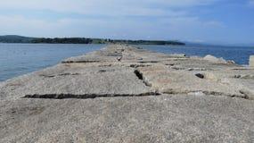 Φάρος κυματοθραυστών Στοκ φωτογραφία με δικαίωμα ελεύθερης χρήσης