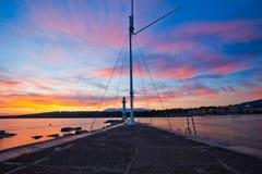 φάρος λιμνών της Γενεύης Στοκ Εικόνες