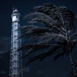 φάρος μπλε Στοκ Φωτογραφία