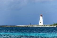 Φάρος νησιών γουρουνιών στο νησί παραδείσου στοκ εικόνες με δικαίωμα ελεύθερης χρήσης