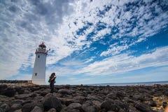 Φάρος νησιών Griffiths στοκ εικόνα με δικαίωμα ελεύθερης χρήσης