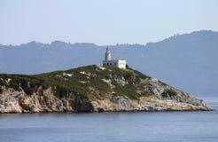 Φάρος νησιών Repi Στοκ εικόνα με δικαίωμα ελεύθερης χρήσης