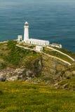 Φάρος νότιων σωρών, Anglesey Στοκ εικόνα με δικαίωμα ελεύθερης χρήσης