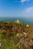 Φάρος νότιων σωρών, Anglesey Στοκ Φωτογραφίες