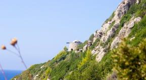 Φάρος παραλιών της Μήλου, Λευκάδα, Ελλάδα Στοκ Φωτογραφίες