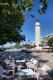 Φάρος σε Alexandroupolis - την Ελλάδα Στοκ Φωτογραφία