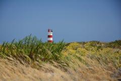 Φάρος σε Ilha Deserta Στοκ Φωτογραφία