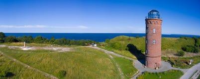 Φάρος σε Kap Arkona, νησί Ruegen, Γερμανία Peilturm Στοκ Φωτογραφία