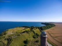 Φάρος σε Kap Arkona, νησί Ruegen, Γερμανία Peilturm Στοκ φωτογραφία με δικαίωμα ελεύθερης χρήσης