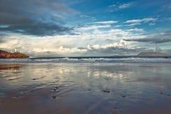 Φάρος στην απόσταση, Fanad, κοβάλτιο Donegal, μ Ιρλανδία στοκ εικόνα με δικαίωμα ελεύθερης χρήσης