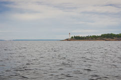 Φάρος στη θάλασσα της Βαλτικής Στοκ φωτογραφία με δικαίωμα ελεύθερης χρήσης