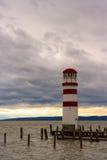 Φάρος στη λίμνη Neusiedl Στοκ φωτογραφία με δικαίωμα ελεύθερης χρήσης