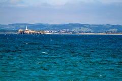 Φάρος στο νησί Mouro Στοκ Εικόνες