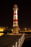 Φάρος τη νύχτα Στοκ φωτογραφία με δικαίωμα ελεύθερης χρήσης
