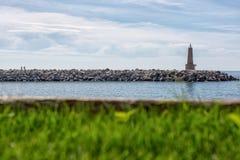 Φάρος του banus puerto στοκ εικόνες