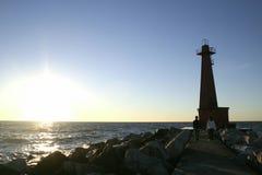 Φάρος φθινοπώρου Στοκ φωτογραφία με δικαίωμα ελεύθερης χρήσης