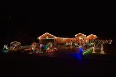 Φάρος Χαρούμενα Χριστούγεννας Στοκ φωτογραφία με δικαίωμα ελεύθερης χρήσης