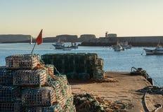 Φάρος ψαράδων διχτυού του ψαρέματος στοκ εικόνα