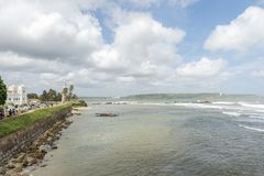 Φάρος Galle, Σρι Λάνκα στοκ φωτογραφίες με δικαίωμα ελεύθερης χρήσης