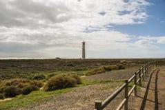 Φάρος Jandia Playa, Fuerteventura Στοκ εικόνα με δικαίωμα ελεύθερης χρήσης