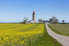 Φάρος Kattegat κοντά σε Grenaa Στοκ Εικόνες