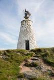 Φάρος Llanddwyn, Anglesey, βόρεια Ουαλία Στοκ φωτογραφία με δικαίωμα ελεύθερης χρήσης