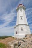 Φάρος Louisbourg Στοκ Φωτογραφίες