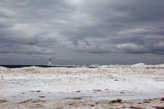 Φάρος Ludington Στοκ εικόνα με δικαίωμα ελεύθερης χρήσης