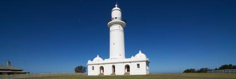 Φάρος Macquarie - 3x1 άποψη πανοράματος, Νότια Νέα Ουαλία, Αυστραλία Στοκ εικόνα με δικαίωμα ελεύθερης χρήσης