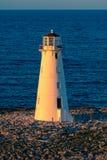 Φάρος Nassau στο ηλιοβασίλεμα στοκ εικόνες με δικαίωμα ελεύθερης χρήσης