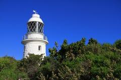 Φάρος Naturaliste ακρωτηρίων - δυτική Αυστραλία Στοκ Εικόνα