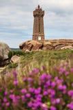 Φάρος Ploumanach Στοκ εικόνες με δικαίωμα ελεύθερης χρήσης