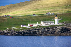 Φάρος 8 Shetland Στοκ Εικόνες