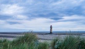Φάρος Talacre, Flintshire Στοκ φωτογραφία με δικαίωμα ελεύθερης χρήσης