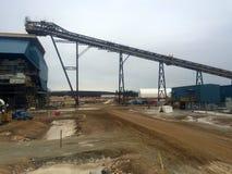 Φάση κατασκευής άμμων πετρελαίου Στοκ εικόνες με δικαίωμα ελεύθερης χρήσης