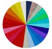 Φάσμα από τις χρωματισμένες χάντρες Στοκ φωτογραφίες με δικαίωμα ελεύθερης χρήσης