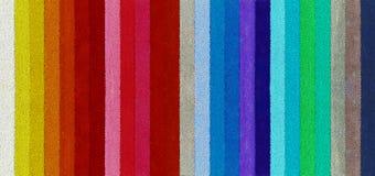 Φάσμα από τις χρωματισμένες χάντρες Στοκ Εικόνα