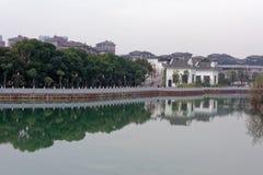 Φάσμα λίμνη-Qingyun Qinyun Στοκ Εικόνες