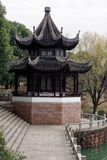 Φάσμα summerhouse-Qingyun Στοκ φωτογραφία με δικαίωμα ελεύθερης χρήσης