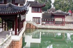 Φάσμα summerhouse-Qingyun Στοκ εικόνα με δικαίωμα ελεύθερης χρήσης