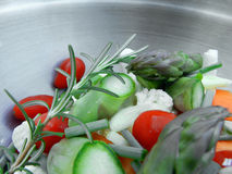 φάτε τα λαχανικά σας Στοκ Εικόνα