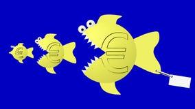 φάτε τα ευρο- ψάρια απεικόνιση αποθεμάτων