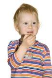 φάτε τα σταφύλια κοριτσιώ&nu Στοκ Εικόνες