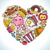 φάτε την αγάπη ι ελεύθερη απεικόνιση δικαιώματος