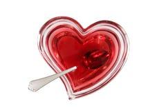 φάτε την καρδιά έξω σας Στοκ Εικόνες