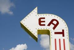φάτε τον τρόπο Στοκ εικόνες με δικαίωμα ελεύθερης χρήσης
