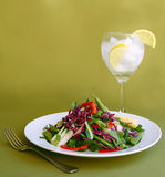 φάτε το υγιές ελαφρύ γεύμ&alph Στοκ φωτογραφίες με δικαίωμα ελεύθερης χρήσης