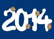 Φάτε το 2014 Στοκ εικόνα με δικαίωμα ελεύθερης χρήσης