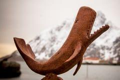 Φάλαινα μετάλλων στοκ εικόνες