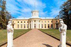 Φέουδο Arkhangelskoe Κιονοστοιχία του παλατιού Στοκ φωτογραφία με δικαίωμα ελεύθερης χρήσης
